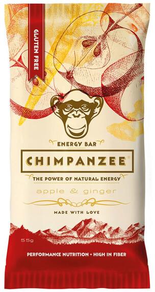 Chimpanzee Energy Bar Vegan Apfel & Ingwer 55g